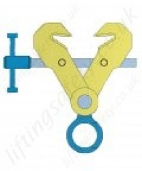 "Gunnebo ""CSB/CSBW Series"" Screw Clamps Range 2,000kg to 5,000kg"