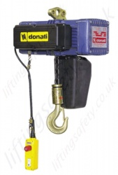 Donati DMK Electric Chain Hoist 400v 3Ph 50Hz - Range from 125kg to 4,000kg