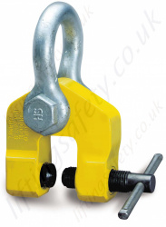 Camlok TSH Swivel Hook Screw Pulling Clamp Range 750kg to 5000kg