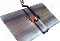 LiftingSafety LSLift-HV Permanent Lifting Magnet for Vertical Lifting & Turning - 250kg or 500kg