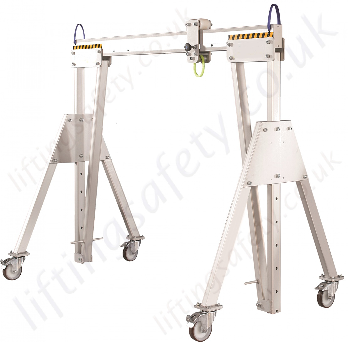 LiftingSafety Light Weight Portable Aluminium Lifting Gantry with ...