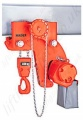 Hadef Premium EH Low Headroom Electric Chain Hoist with Geared Travel Trolley. Range 500kg to 40,000kg