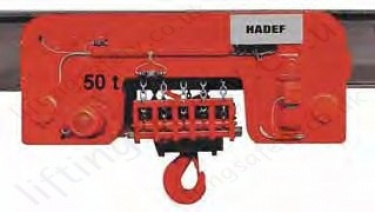 29 06 Ee 50t Electric Chain Hoist With Electric Trolley