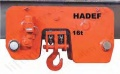 Hadef Premium UL-EE Ultra Low Headroom Electric Chain Hoist with Electric Travel Trolley. Range 1,000kg to 50,000kg