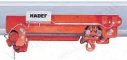 "Hadef EEL ""Big Bag"" Ultra Low Headroom Electric Chain Hoist with Electric Travel Trolley. Range 1,000kg to 6,300kg"