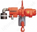Hadef APS Stationary Pneumatic Hoist With Suspension Eye Range 500kg to 30,000kg