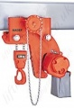 Hadef APH Low Headroom Pneumatic Hoist With Geared Travel Trolley Range 500kg to 40,000kg