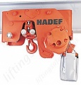 Hadef APP Ultra Low Headroom Pneumatic Hoist With Pneumatic Travel Trolley Range 1,000kg to 50,000kg