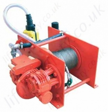 Hadef 43 86 P Liftboy Pneumatic Winch