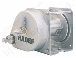 Hadef 190/94 Stainless Steel Manual Wirerope Hand Winch, 500kg