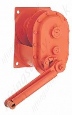 Hadef 260 76 Spur Gear Manual Wirerope Winch