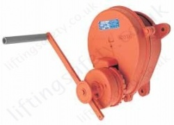 Hadef 250/33 Premium Wall Winch, Manual Wirerope Hand Held Winch, Range 300kg to 1,500kg