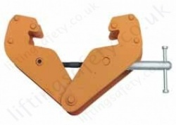 Hadef 221/05 Professional Beam Clamp, Range 1,000kg to 10,000kg