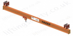 Hadef TA Articulated Single Girder Underslung Crane, Range 250kg to 1,500kg