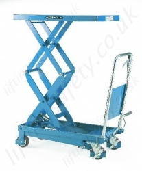 LiftingSafety Mobile Scissor Lift Table, Range from 150kg to 500kg