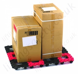 LiftingSafety Interconnectable Wheel Pallets, 35kg per Square