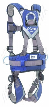 Dbi Sala Exofit Nex Construction And Climbing Harness 1113910 1113911 1113912 1113913 Back 600x800