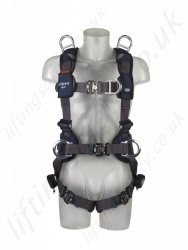 "Sala ""ExoFit"" NEX Fall Arrest Harness, with Stand-up Rear D-Ring, Work Positioning Belt and Shoulder Rescue Points"