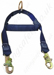 "sala ""exofit"" nex fall arrest harness with standup rear"