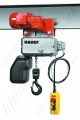 Hadef Professional 62/05E Electric Chain Hoist - with Electric (Motorised) Trolley, Range 125kg to 2,000kg