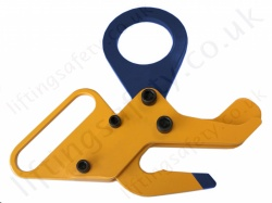 "LiftingSafety ""AutoHook"" Automatic Gravity Load/Release Hook, Range 2,000kg to 10,000kg"