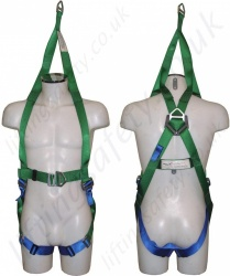 "Abtech ""ABRES"" Two Point Rescue Harness, with Additional Rescue Connection Point"