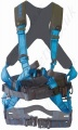 "Tractel ""HT Electra"" Linesman Harness with Rear 'D' Ring, Front Chest Webbing Loops for Fall Arrest and 2 Large 'D' Rings on Belt for Work Positioning"