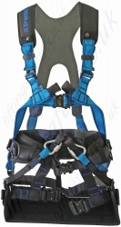 "Tractel ""HT Greentool"" Arborist Harness with Built-in Rigid Work Seat. Various Fall Arrest and Restraint Anchor Points"