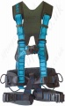 "Tractel ""HT Promast"" 5 Point Rope Access Harness with Front and Rear Connection Points and Work Positioning Belt"