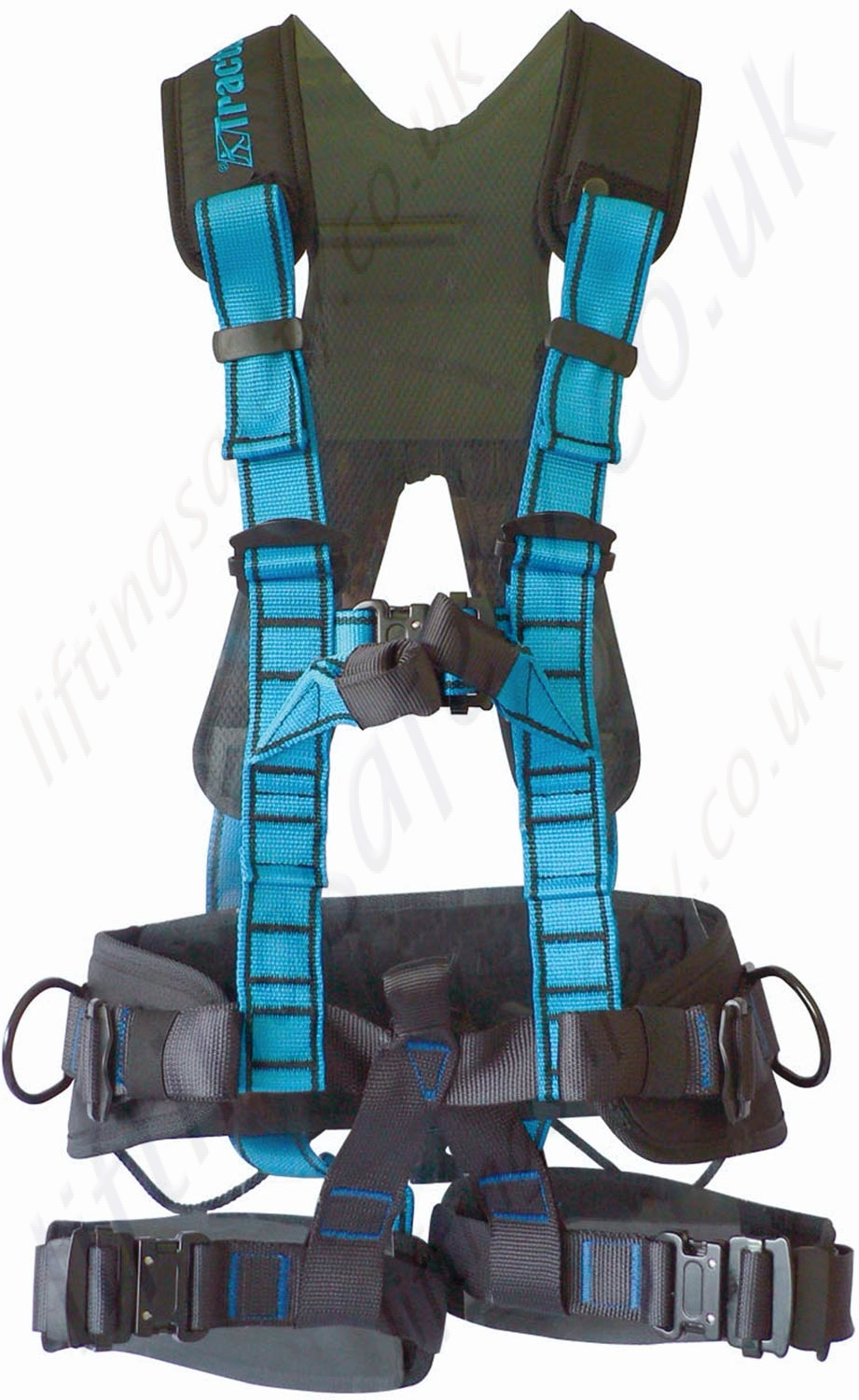 Front Connect Harness : Tractel quot ht promast point rope access harness with