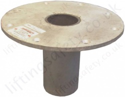 Abtech Flush Floor Mount Socket - Existing Concrete