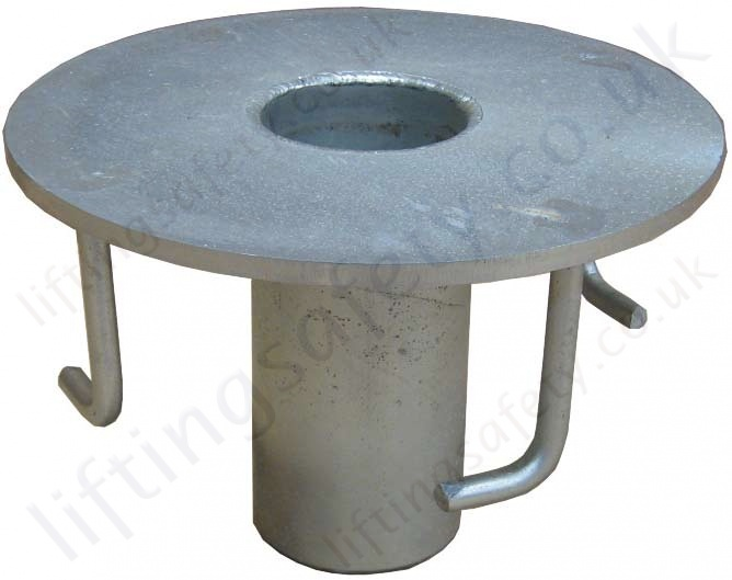 Abtech Flush Floor Mount Socket Fresh Concrete