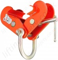 "Tiger ""BCF"" Heavy Duty Fixed Jaw Beam Clamp with Shackle - 1000kg to 15 tonnes"