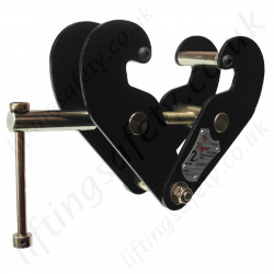 "Tiger ""BC"" Heavy Duty Standard Beam Clamp - 1000kg to 10 tonne"