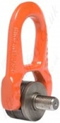 "Codipro ""DSR+C"" Double Swivel Lifting Point with Centring - Metric or Imperial Threads - Capacities from 50kg up to 6300kg"