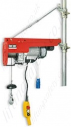 HE 200 Veloce Scaffold hoist, 110v, 40m Working Height, 200kg Capacity