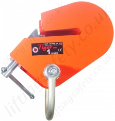 Tiger Adjustable Angle Beam Clamp - 1 tonne or 3 tonne capacity