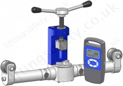 "Tractel ""Dynarope HF36/3/LPT"" Tension Meter - 500 to 40000daN - For use with 20 to 44mm wire rope"