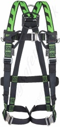 Miller Duraflex MA04 H-Design 2 Point Harness with Rear 'D' Ring & Front Webbing Loops. Auto Buckles