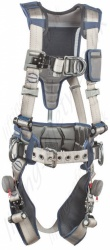 "SALA ""ExoFit STRATA"" 4 Point Construction Style Fall Arrest Harness with Belt, Size: S to XL"