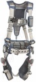 "SALA ""ExoFit STRATA"" 6 Point Rescue Style Harness with Belt, Shoulder Rescue D Rings, Sizes: S to XL"