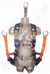 "SALA ""ExoFit"" NEX Oil and Gas Full Body Harness, Size: S to L"