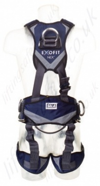 Sala Exofit Nex Harness With Chest Ascender Back