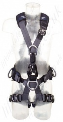 "SALA ""ExoFit"" NEX Fall Arrest Suspension Harness with Belt and Chest Ascender, Size: S to XL"