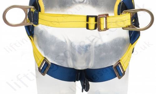 Work Positioning Belt And Leg Buckles