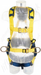 "SALA ""Delta"" Comfort 2 Point Harness with Belt (2 additional connection points), Pass Through Buckles, Size: Small & Universal"