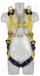"SALA ""Delta"" 2 Point Rescue Harness, Standard Buckles, Size: S to XL"