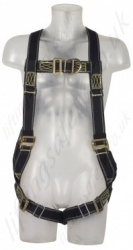 "SALA ""Delta"" 2 Point Fall Arrest Harness for Hot Work Use, Size: M to XL"