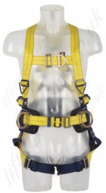 Sala Delta Harness With Belt Front