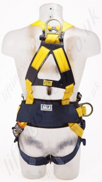 Sala Delta Harness With Belt  Quick Connect Buckles And Central Belt D Ring Back